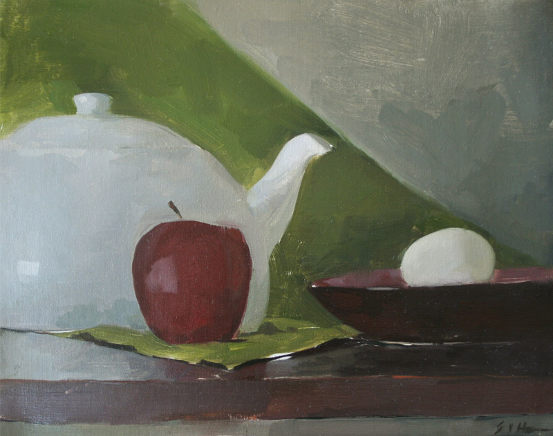 Egg with Objects, Erick von Hoffmann
