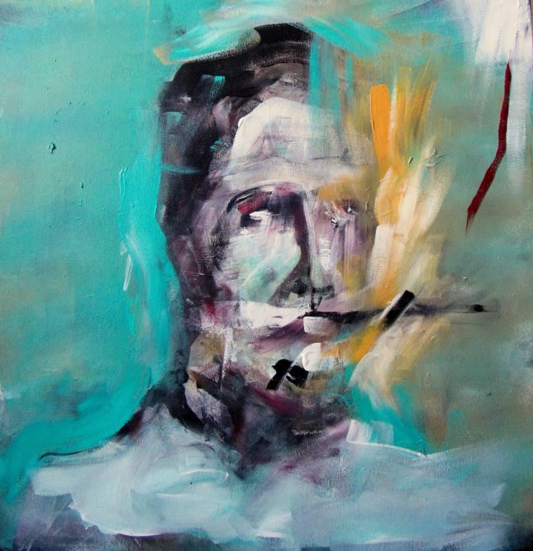 Turquoise Portrait 2