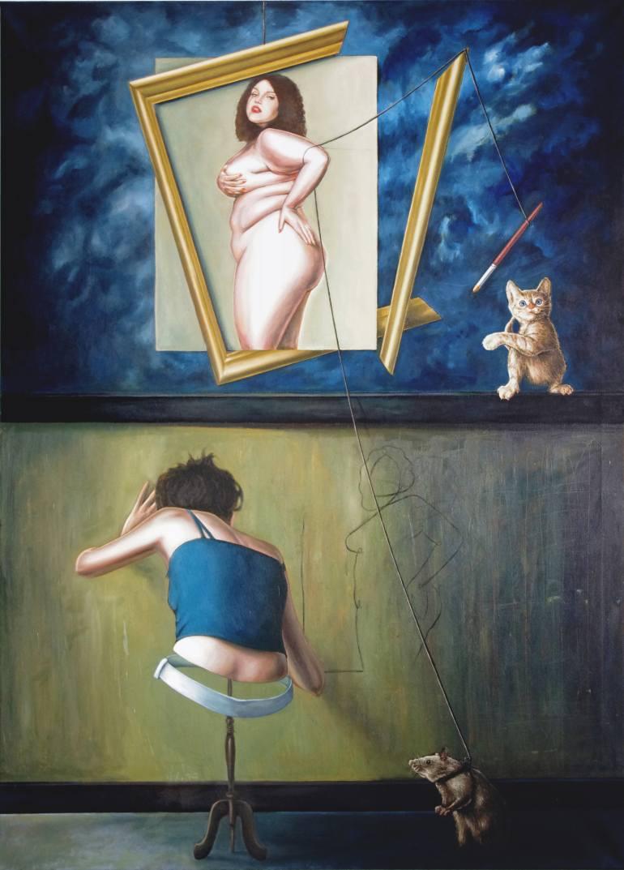 Bernard Simunovic | My cat can paint