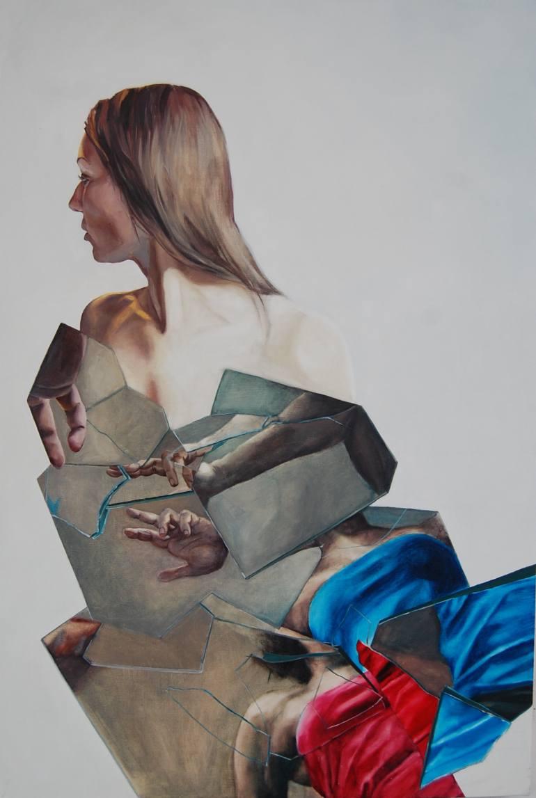 sylwia Zdzichowska | double self-portrait I
