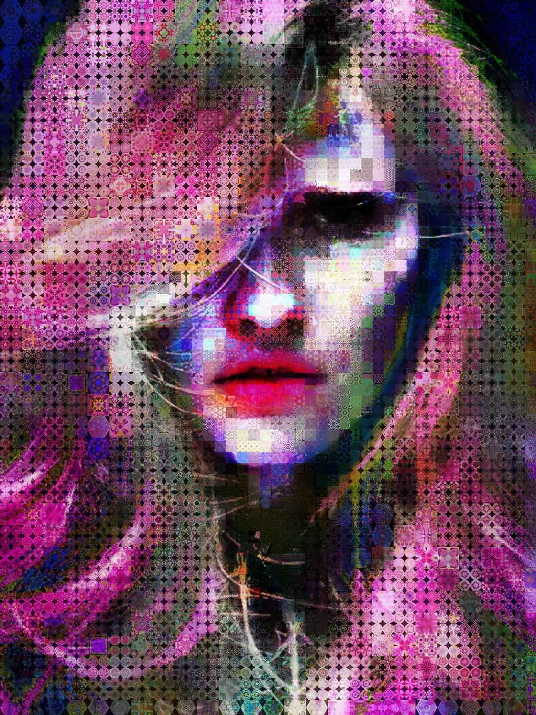 Dark blooms Collage