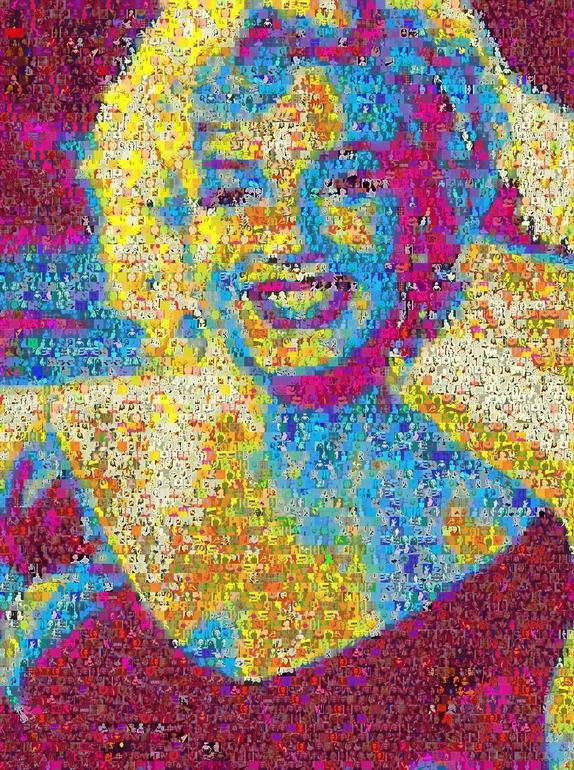 Marllin Monroe Collage