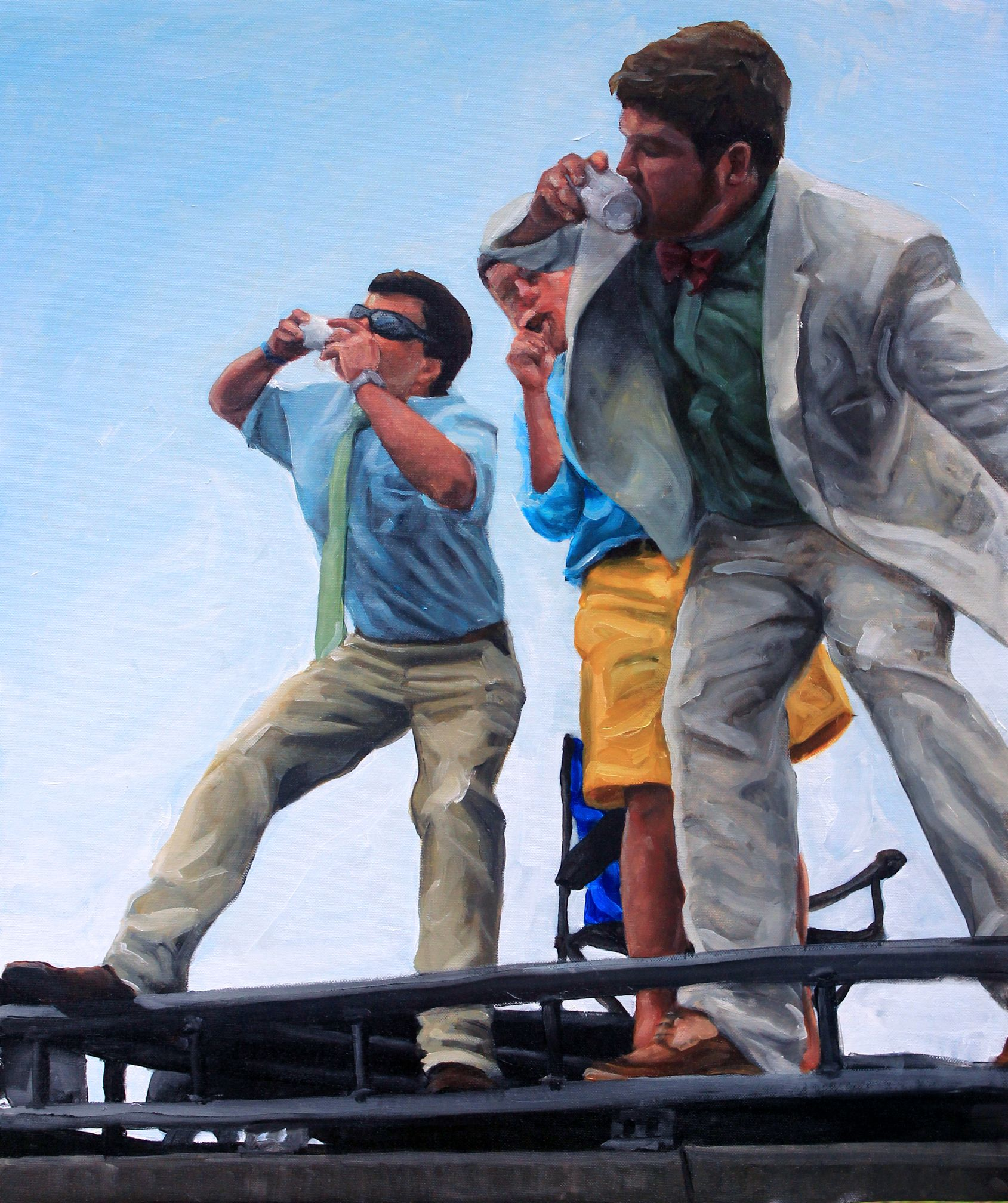 "2013, 18"" x 24"", Oil on Canvas.  *TFM: The Shotgun: Breakfast of Champions Joel Parker"
