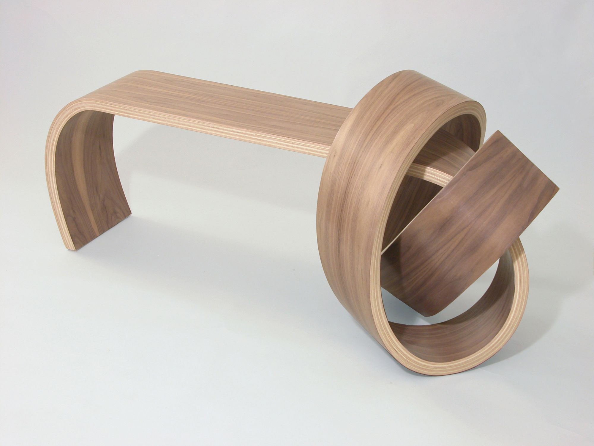 Why Knot Bench by Kino Guerin