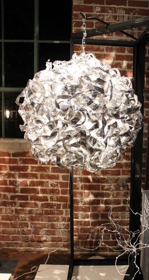 Untangled Chandelier - Round,