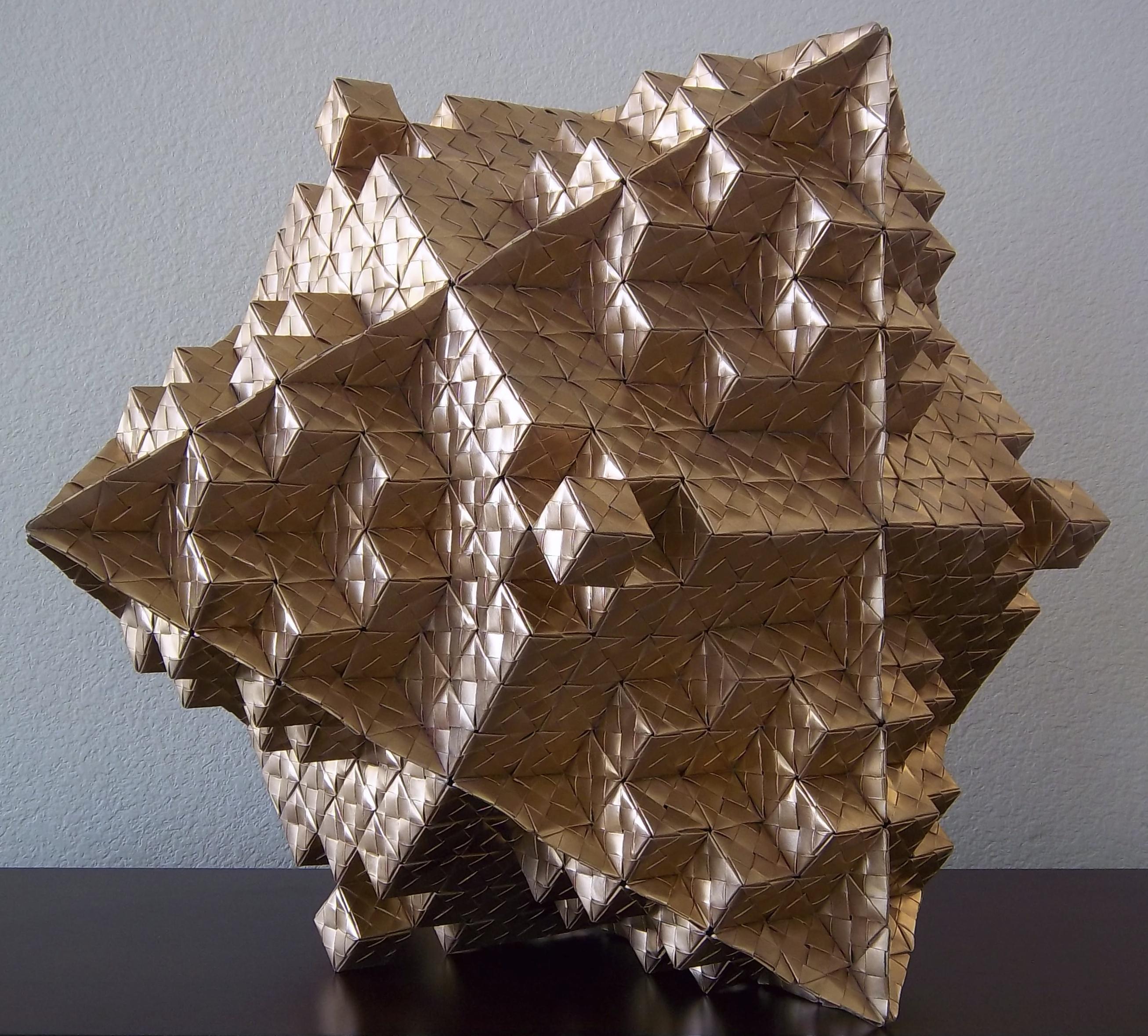 Octahedron Variation in Origami