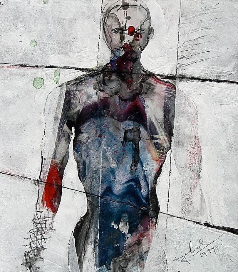 TORSO in bunt, 1999, Edgar Piel