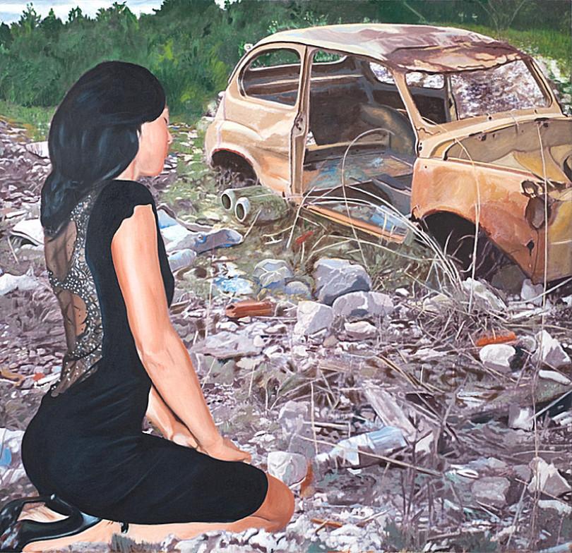 Preghiera ad una vecchia 500 by Claudio Di Carlo