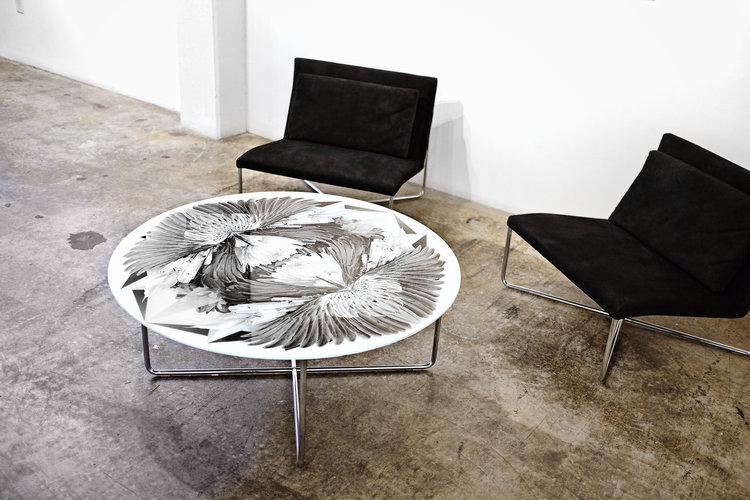 Surface Soul Chair and Table Set | Amy Rader