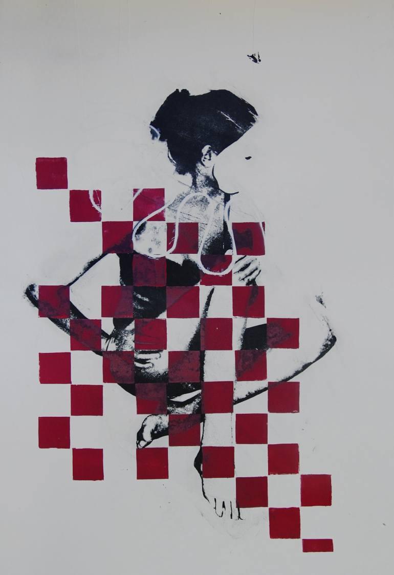 sylwia Zdzichowska | pink harlequin