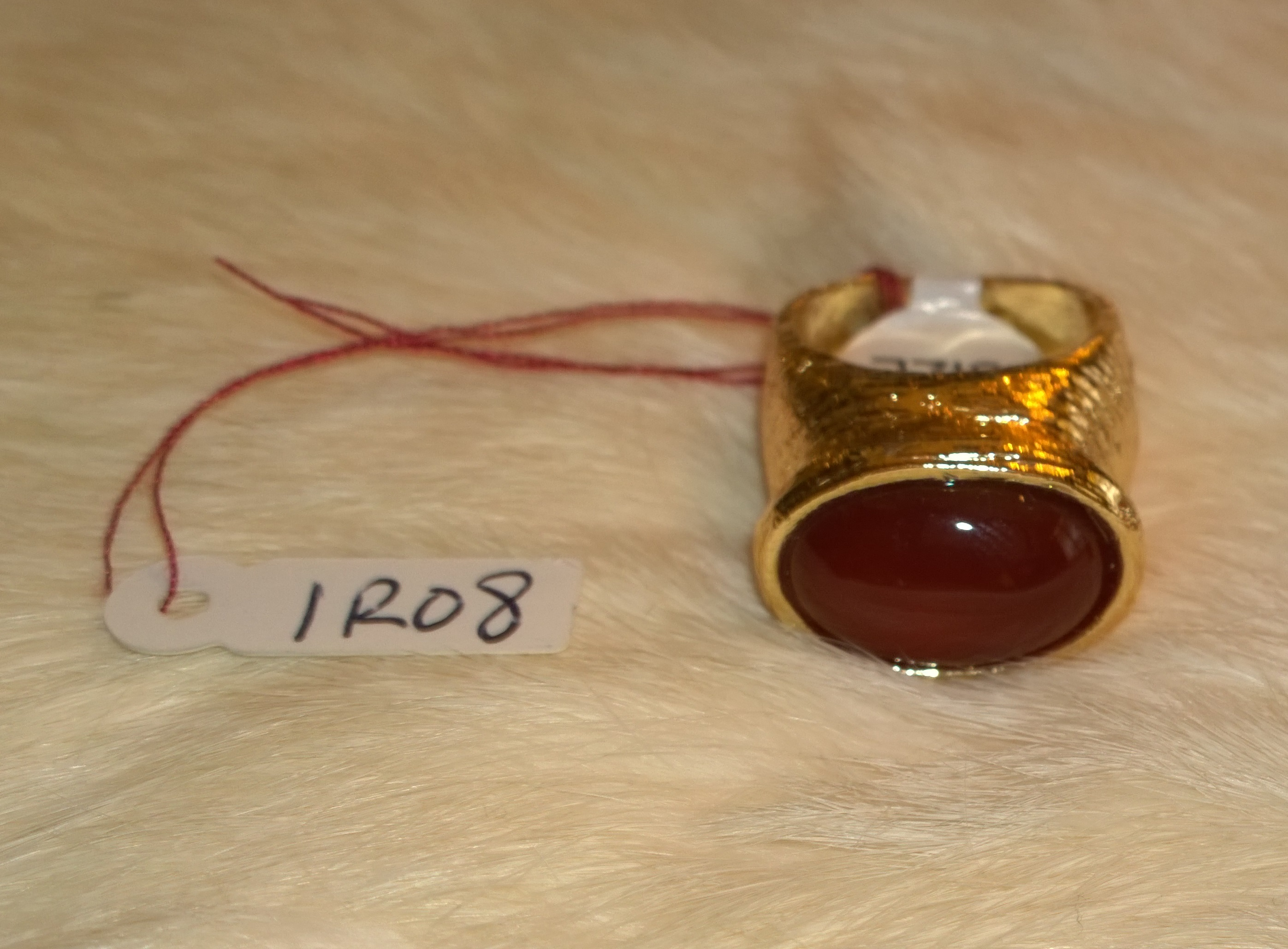 Marron Gold Ring 1R08 Size 7