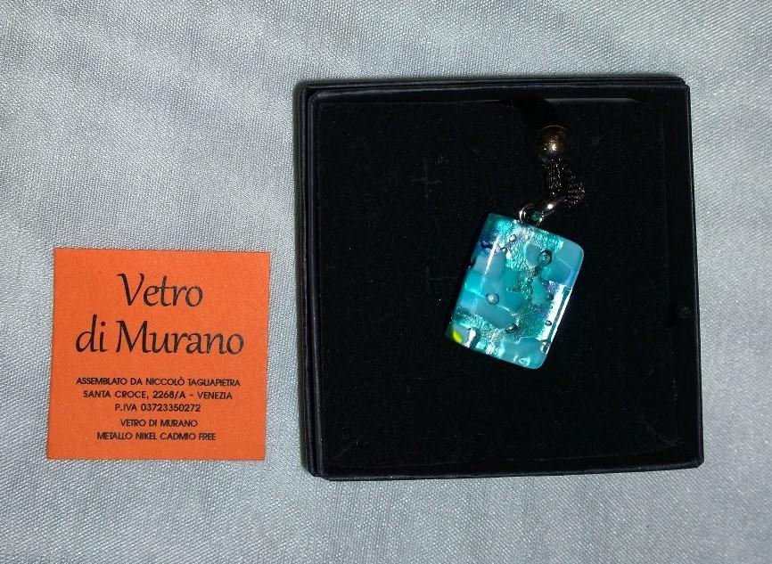 Small Aqua Murano 2N02