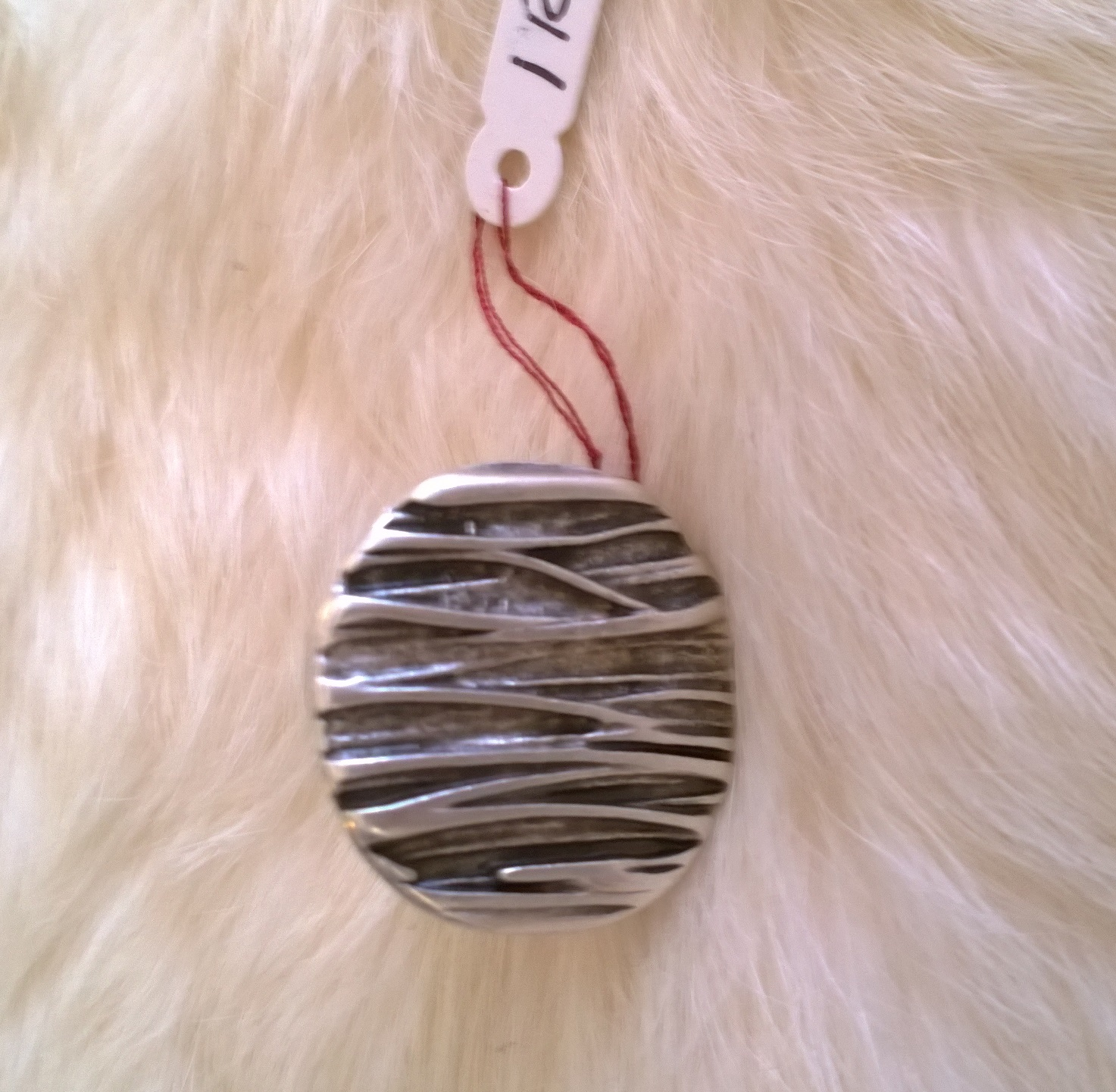 Modern Silver Ring 1R34