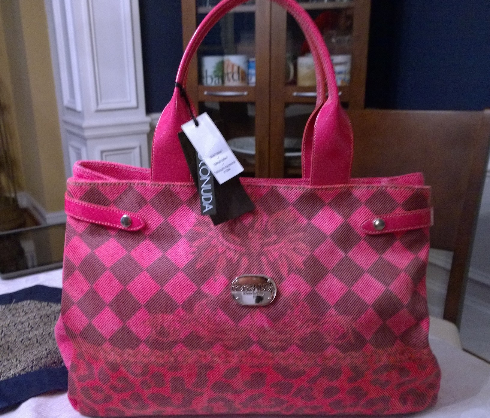 COCONUDA Pink Handbag   -SOLD-