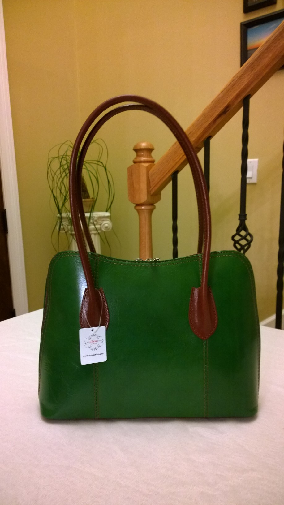 Green Handbag GB01   -SOLD-