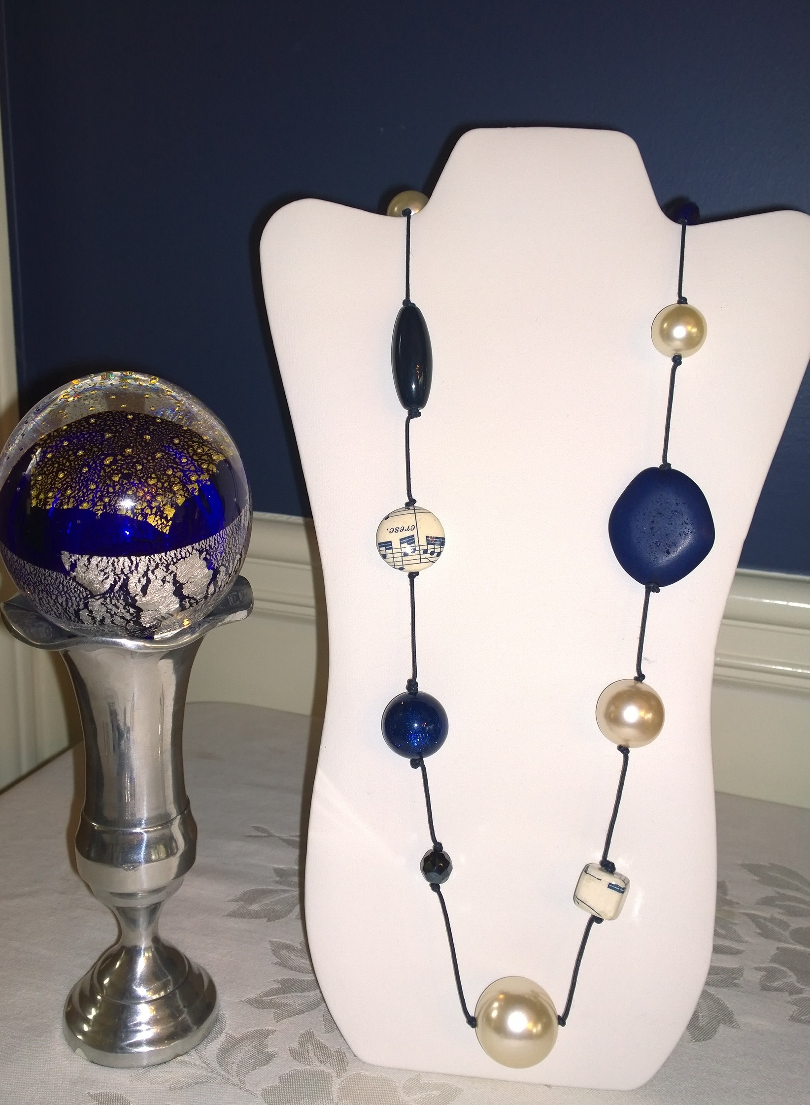Gioia Blue Necklace 4N22