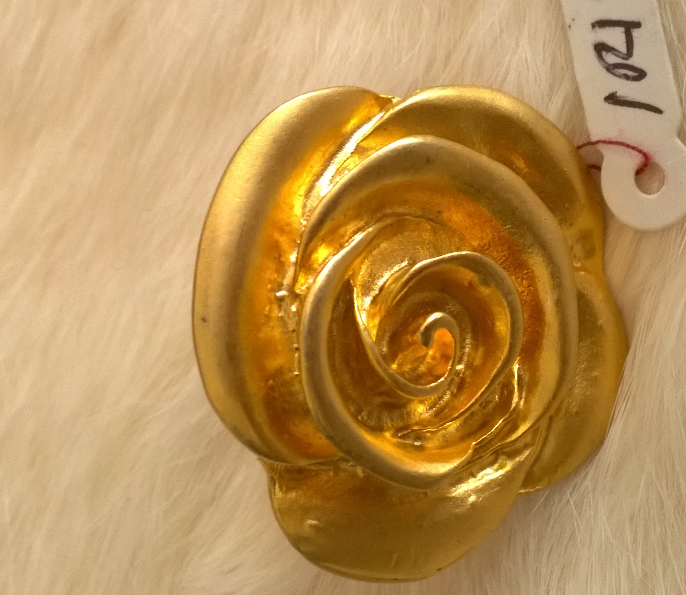 Gold Flower ring 1R15