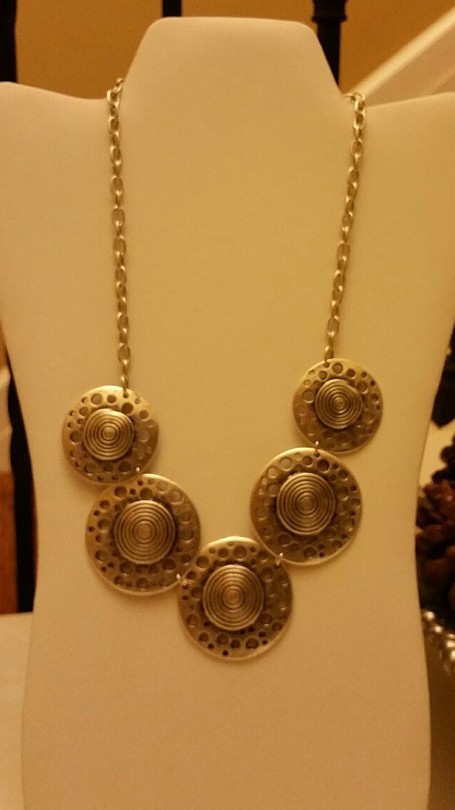 Circles Necklace 1N24
