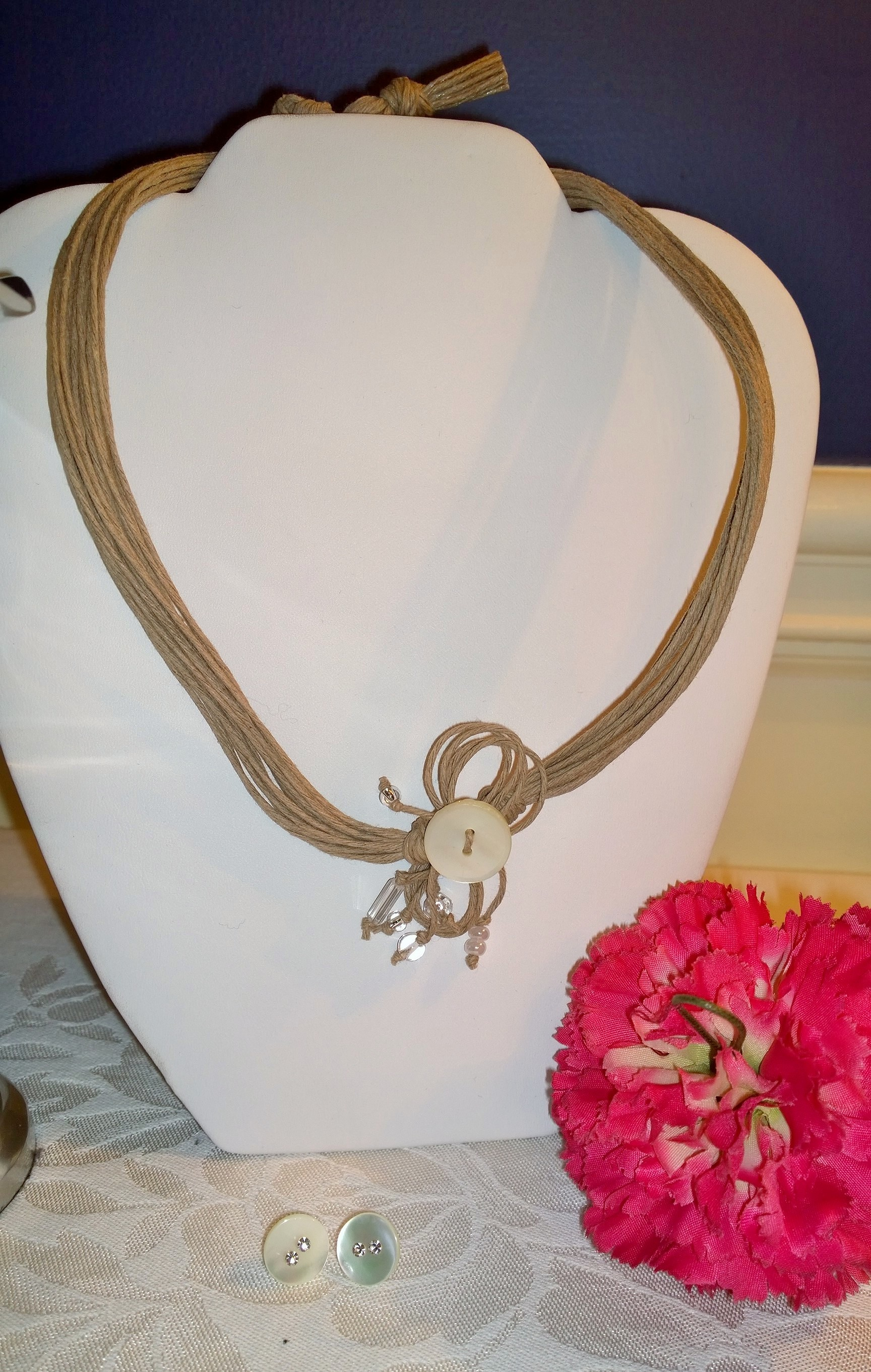 Centralle Bottoni Necklace 4N4
