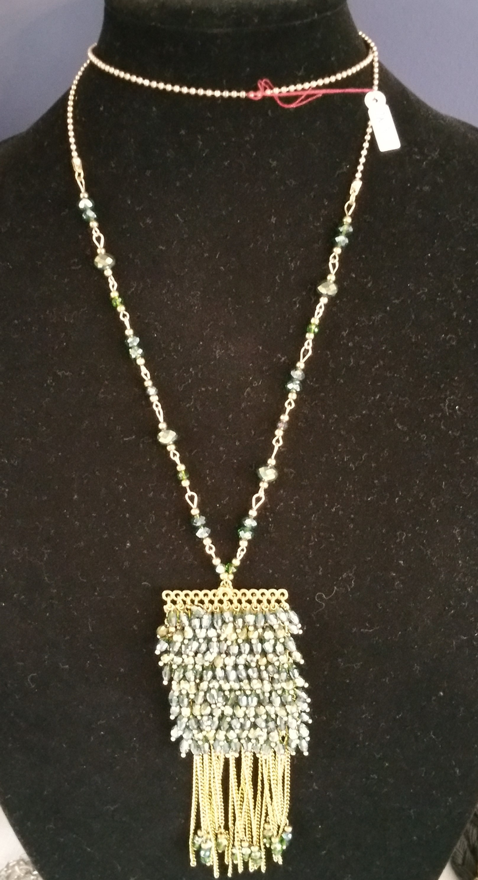 Green Inspired Necklace 7N3