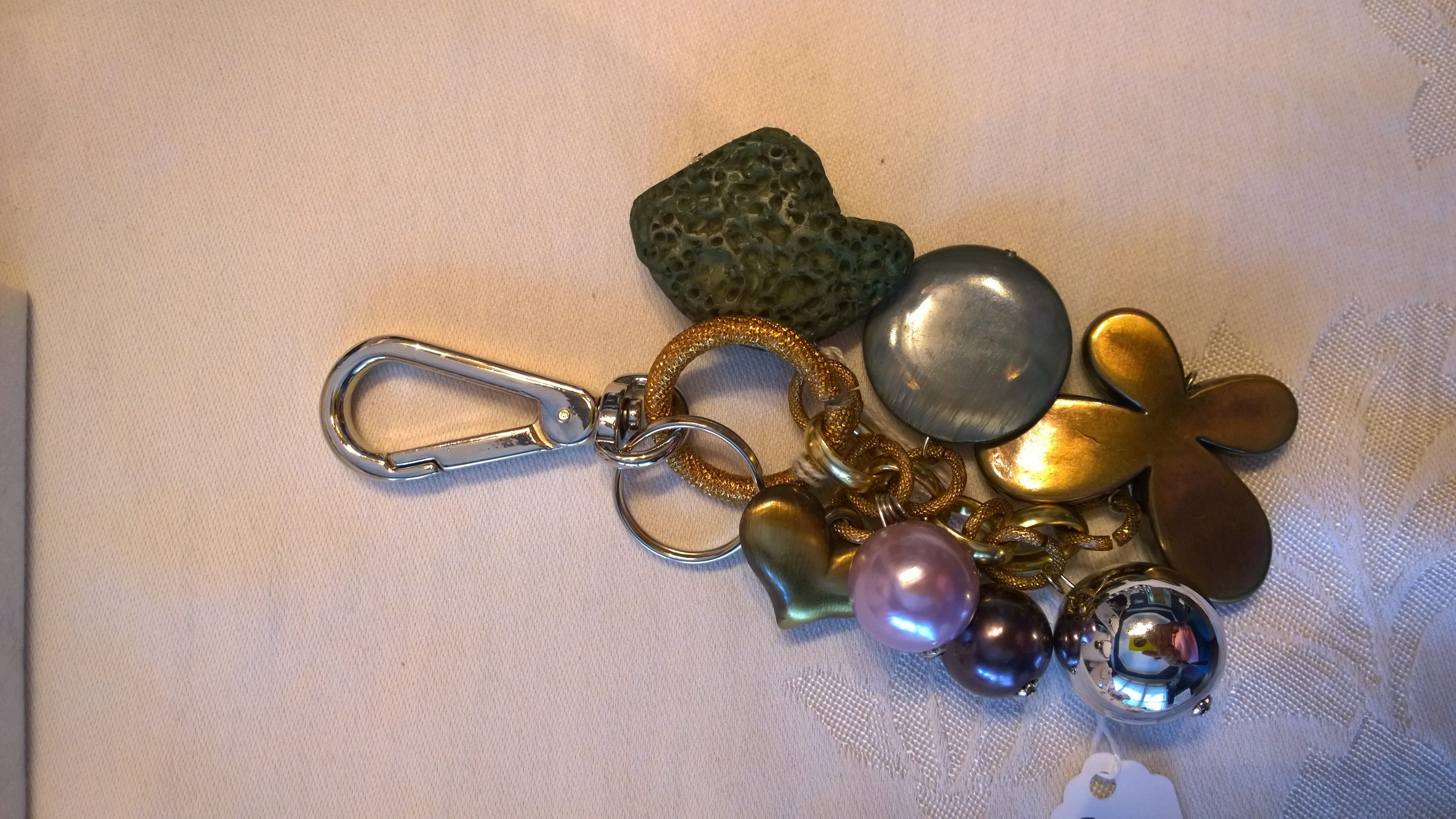 Green and Purple Key Holder 0803KH