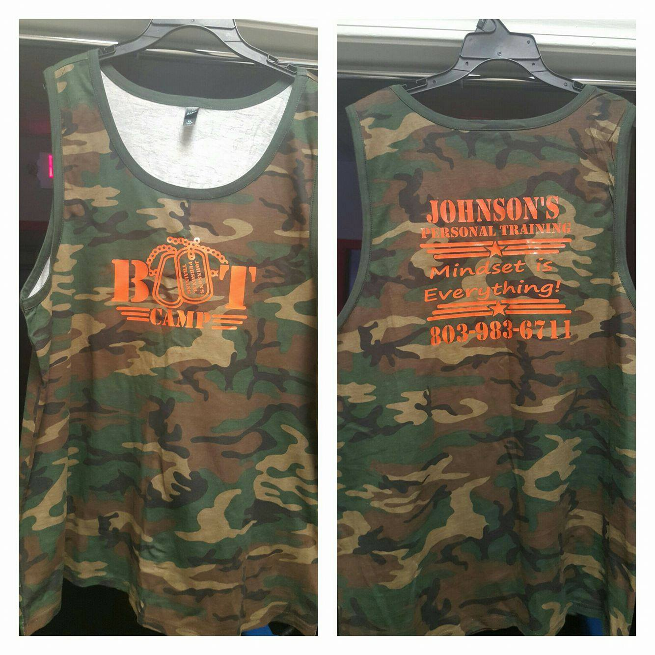 Bootcamp Camo Tank Top