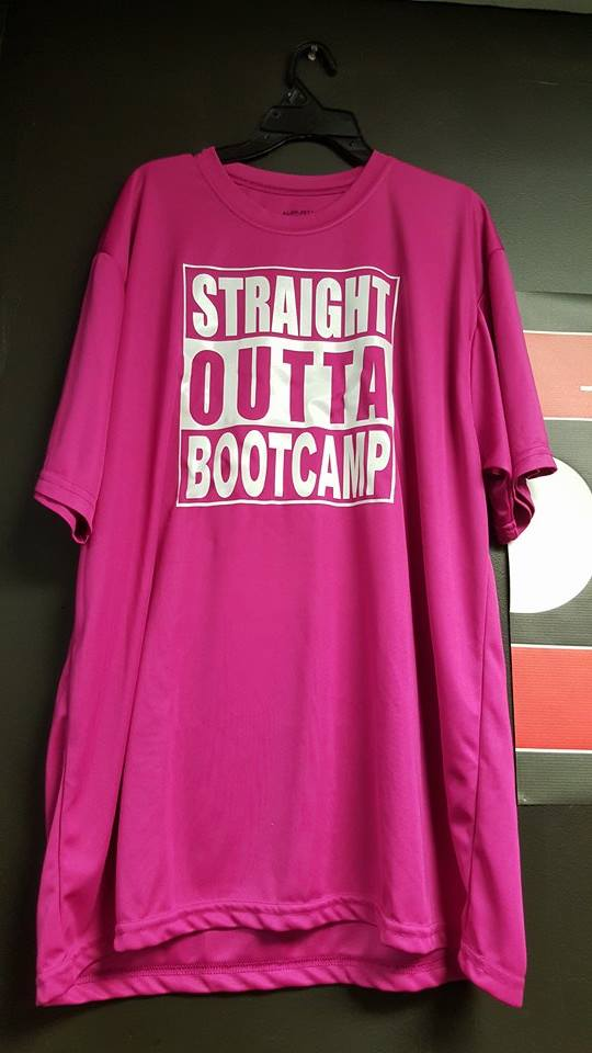 Straight Outta Bootcamp Tee Shirt