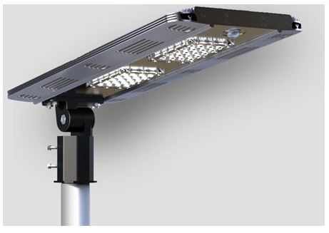 12 Watt Thin Profile All-in-One Solar Light, Purchase One for $325 or Two for $629