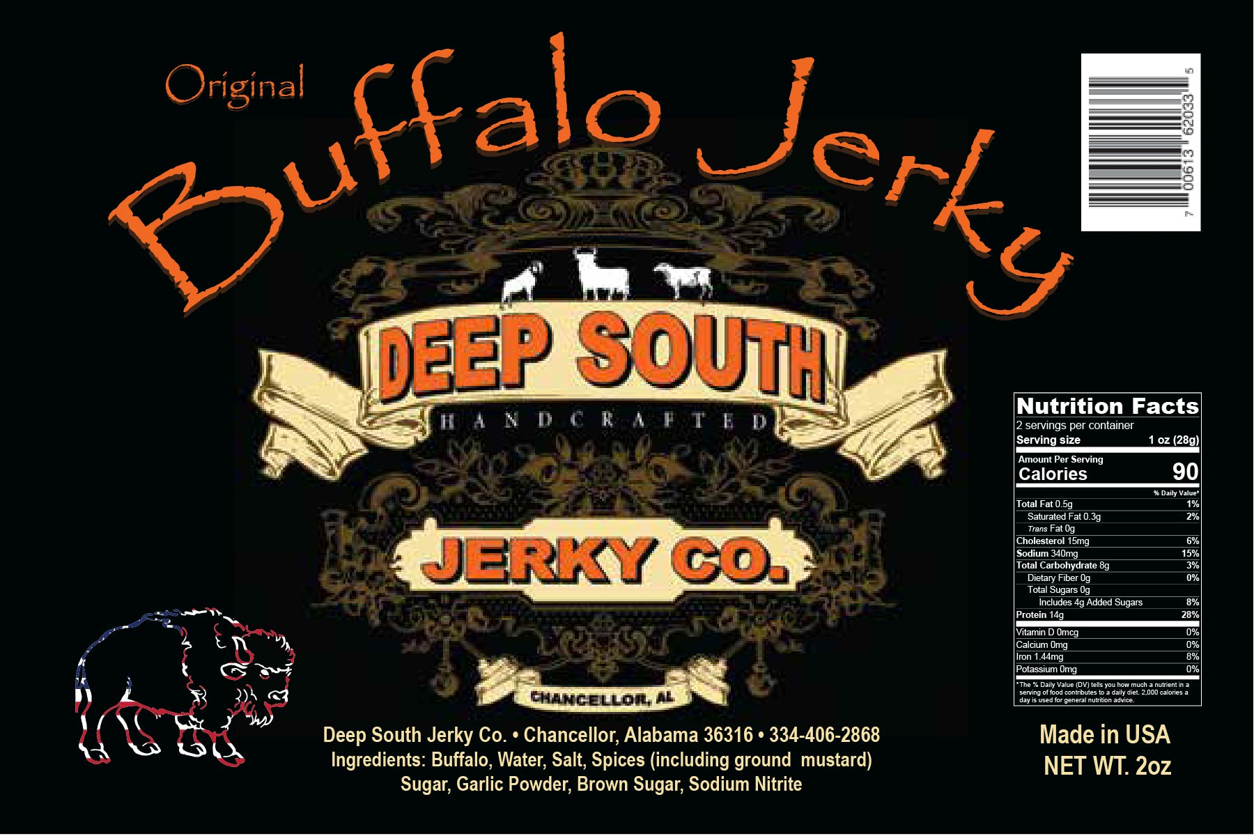 Buffalo Jerky(Original)