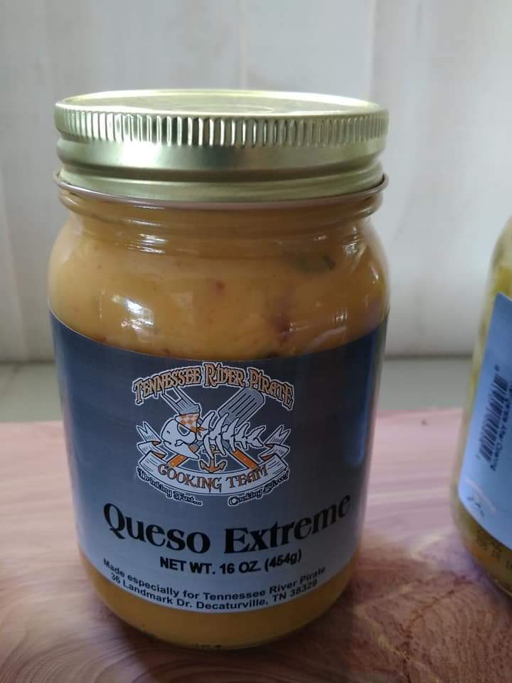 Tennessee River Pirate Extreme Queso Dip