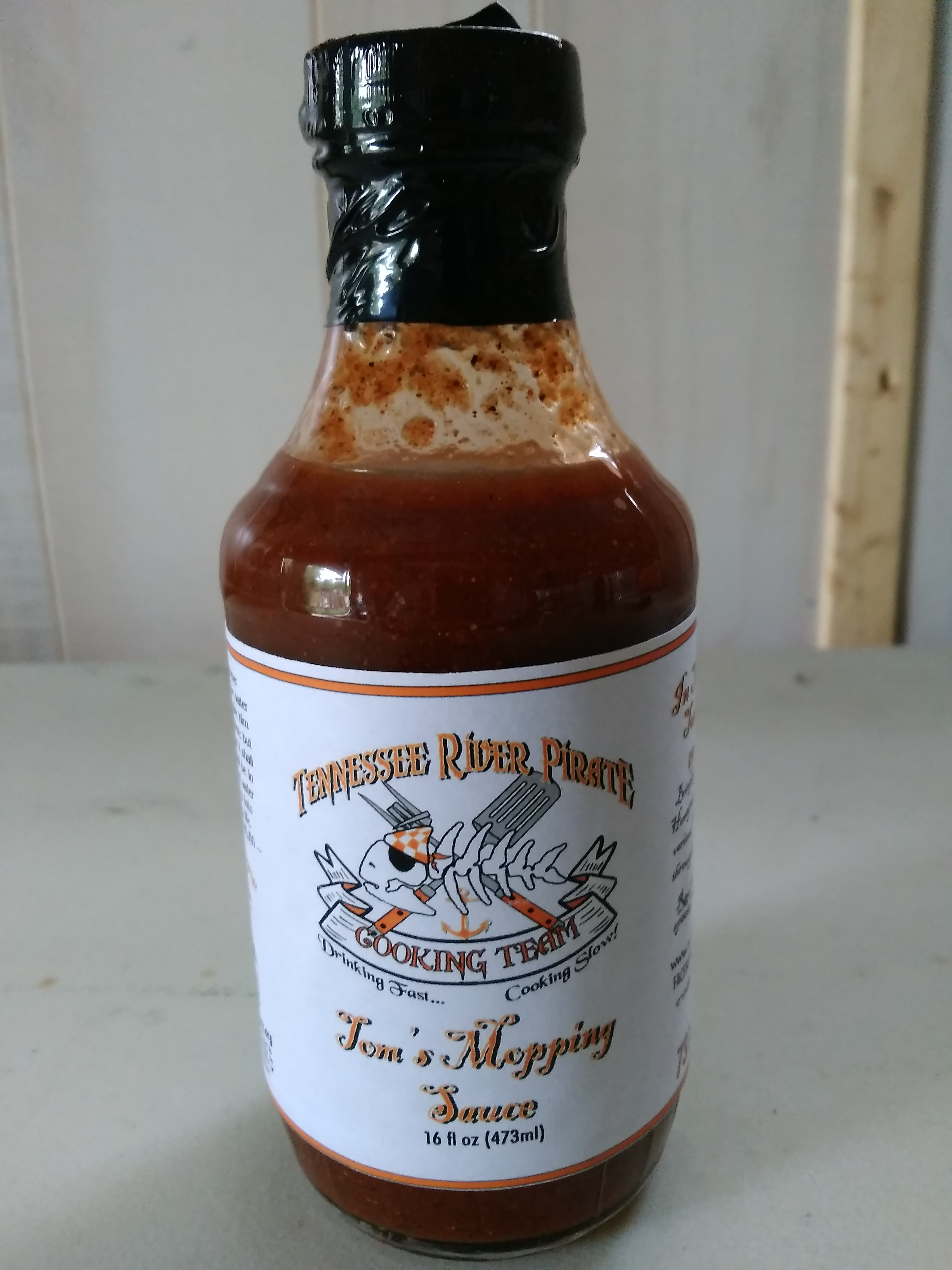 Tennessee River Pirate Mopping Sauce