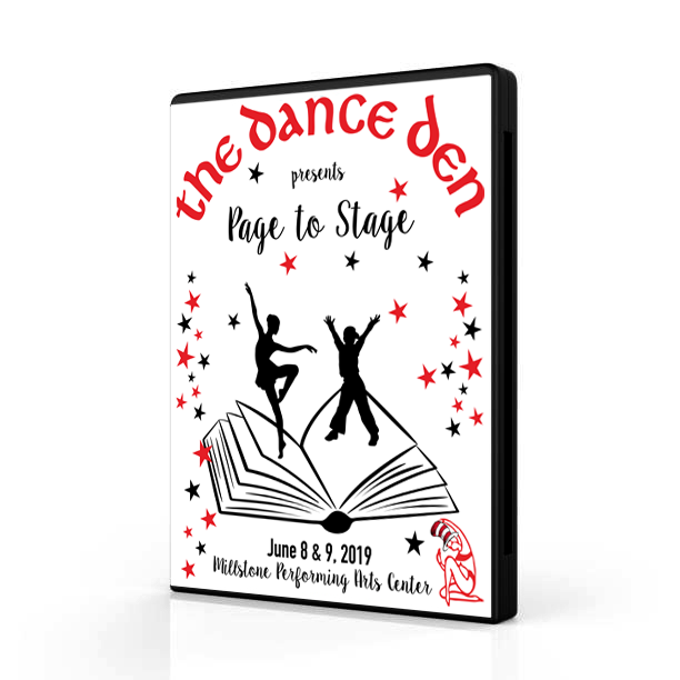 The Dance Den 2019: Page to Stage (Sat @ 1:00 pm)