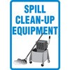 Spill Clean Up Equipment Decal (picture)