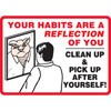 Your Habits are a Reflection of You Decal (picture)