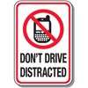 Don't Drive Distracted Decal Stickers