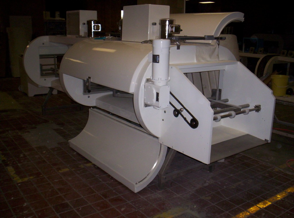 "1 Tier IQF CO2 UltraFreeze® Tunnel Freezer , 48"" Conveyor Belt"