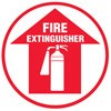 Fire Extinguisher Decal (picture & arrow up)