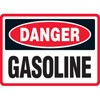 Danger Gasoline Decal Stickers