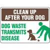 Clean Up After Your Dog Decal