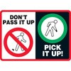 Don't Pass It Up Pick It Up Decal