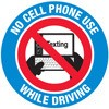 No Cell Phone Use While Driving Decal Stickers