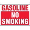 Gasoline No Smoking Decal Stickers