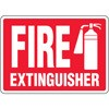 Fire Extinguisher Decal (picture of fire extinguisher)