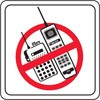 Picture of No Cell Phones Decal Stickers