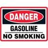 Danger Gasoline No Smoking Decal Stickers