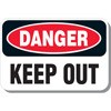 Danger Keep Out Decal