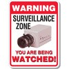 Surveillence Zone You Are Being Watched Decal