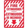 Fire Extinguisher Bilingual Decal