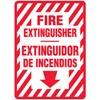 Fire Extinguisher Bilingual Decal