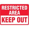 Restricted Area Keep Out Decal